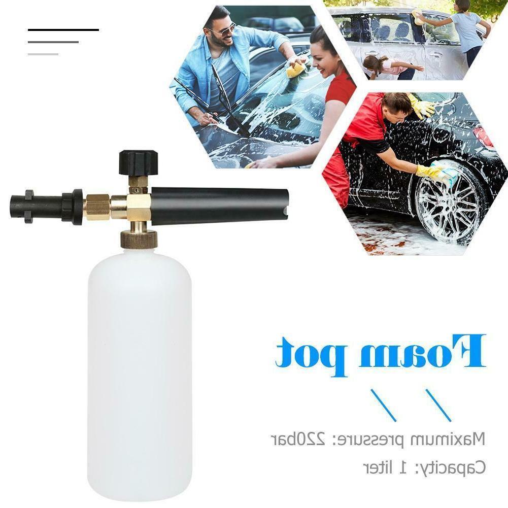 1l high pressure car washer foam gun