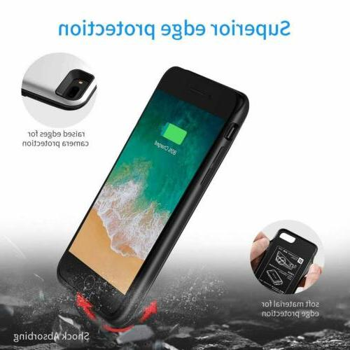 2600mAh For 7 8 Magnetic Bank Pack Battery Case Charging Phone