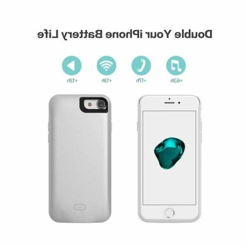 2600mAh For iPhone 8 Bank Pack Case Charging Phone