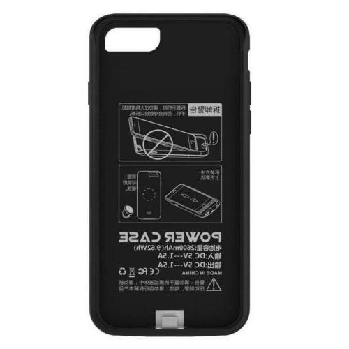 2600mAh For 8 Bank Pack Case Charging