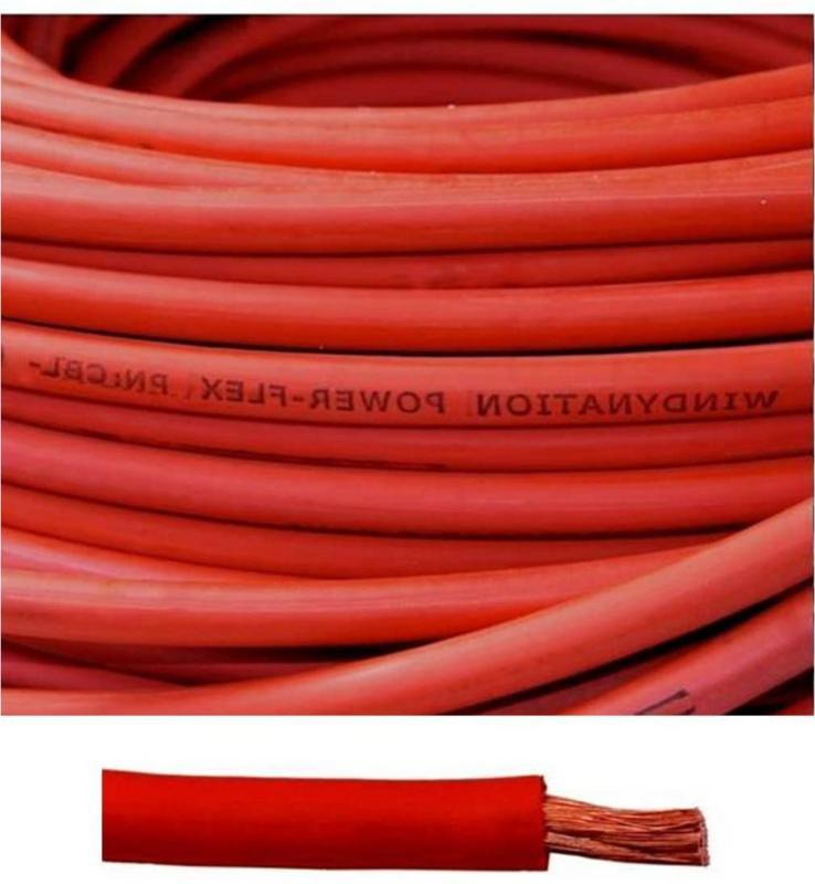 6 Awg 25 Battery Pure Cable Wire Car,