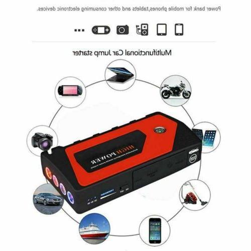 69800mAh Starter Portable USB Bank 600A