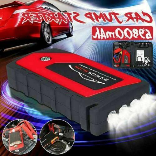 69800mAh 12V Starter Portable USB Bank Battery 600A