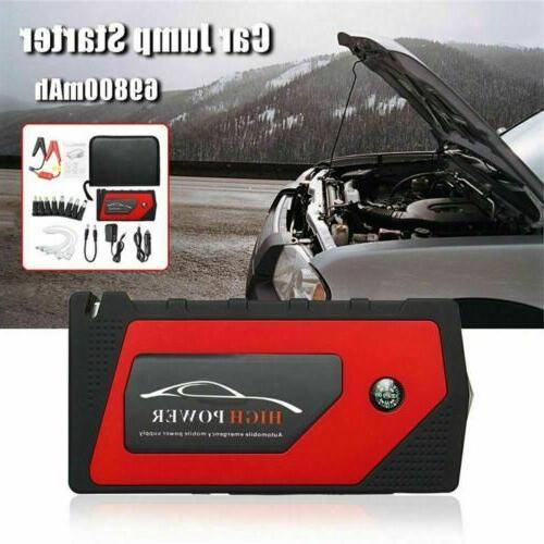 69800mAh Car Starter Portable Bank Battery Booster 600A