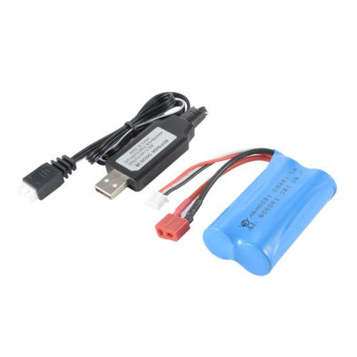 7.4V 1500mAh 18650 + USB WLtoys 12428 Car