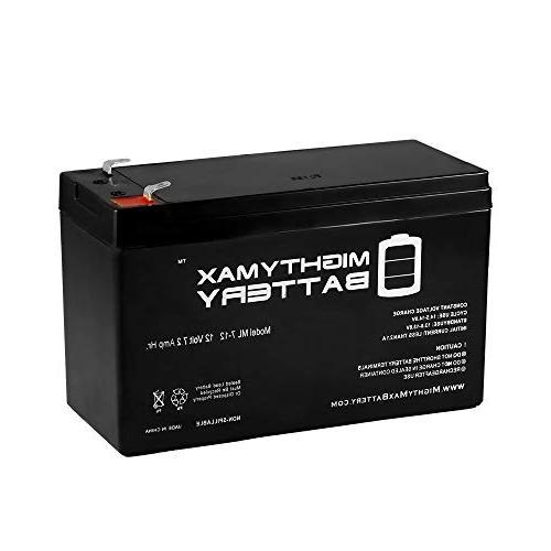 Mighty Max Battery 12V 7AH SLA Battery for Henes Broon RC Ri