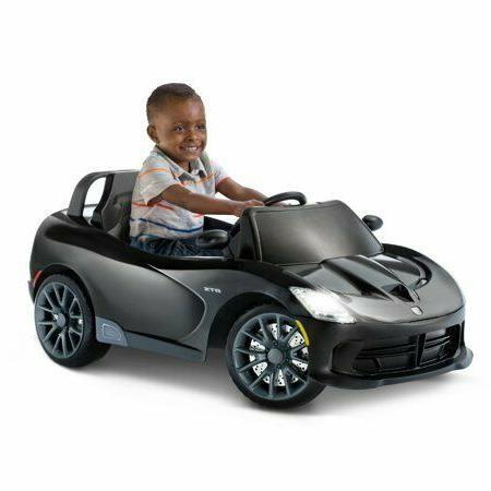Battery Powered Kids Ride On Toy 6V Viper Black
