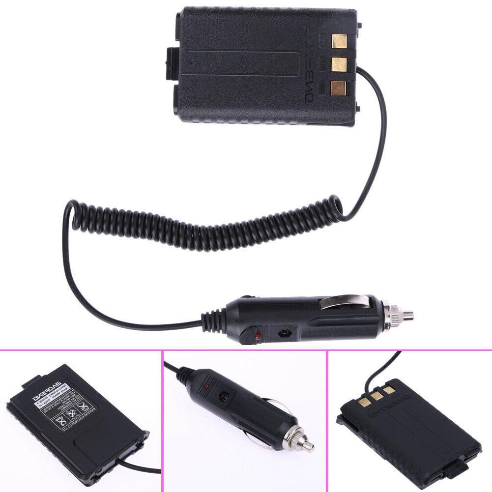 12v car charger battery eliminator for baofeng