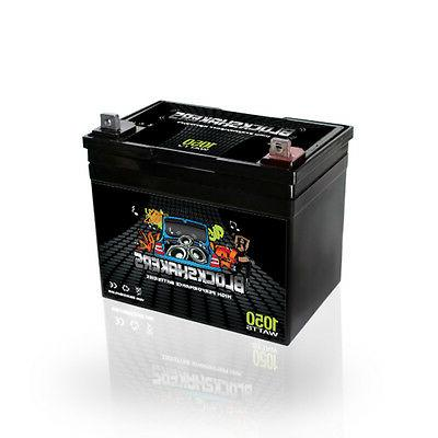 Black 35AH Watts NB/T5 Battery replaces XS D975 S975