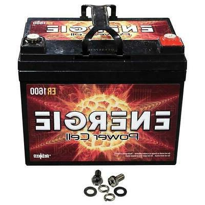 Car Audio 12 Volt Power Cell Battery 1600 Watts / 35Ah Seale