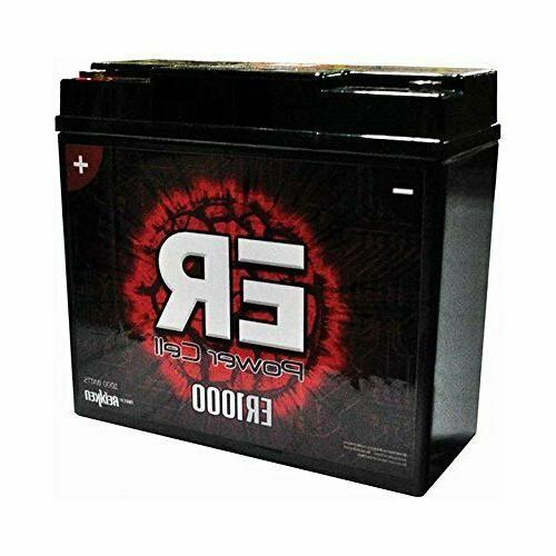 Car Audio Power Cell Battery 12 V Volt Sealed Reikken