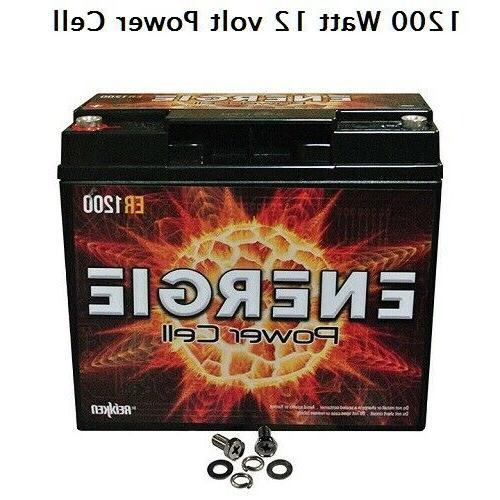 car audio power cell battery er1200 12