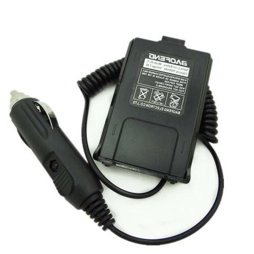 Car Battery Eliminator Supply Power 12V for BAOFENG UV-5R Du