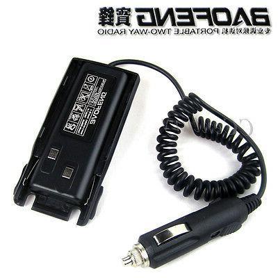 car charger radio battery eliminator for baofeng