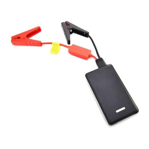 Car Jump Starter Emergency Charger USB Power Bank Backup Bat