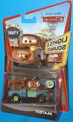 Disney Pixar Cars 2 Lights and Sounds Mater Needs New 3 LR44