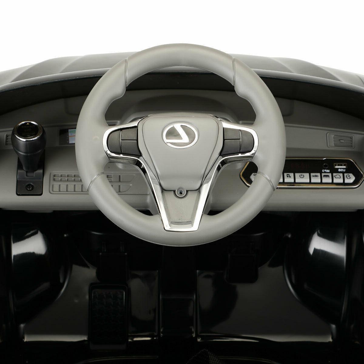 Electric Kids On Lexus Vehicle Black