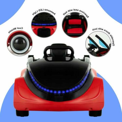 Kids Electric Battery Motorized with RC Red