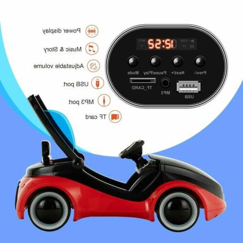 Kids Ride Electric Motorized with RC Red