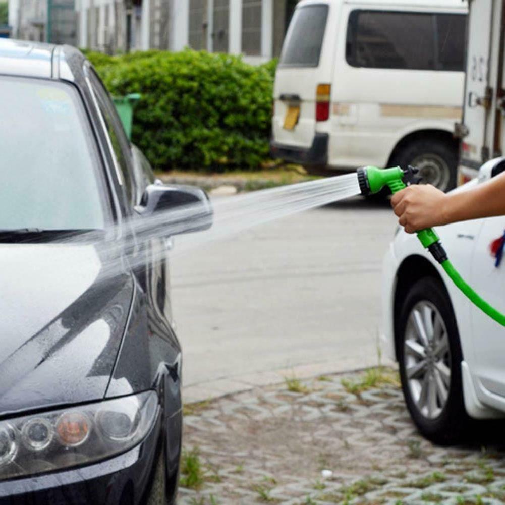 Garden Spray Expandable Car Water Hoses Pipe Set
