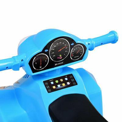 Power Toddler Dashboard Radio & Blue