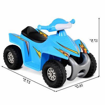Kids Electric Battery Power Toddler Dashboard Radio Blue