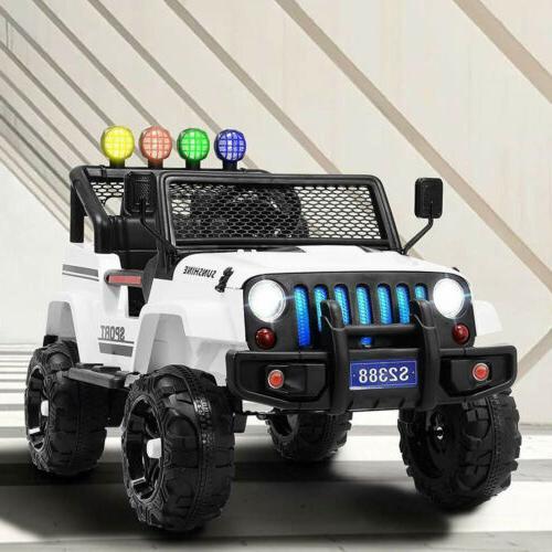 12V Ride Truck Suspension Battery