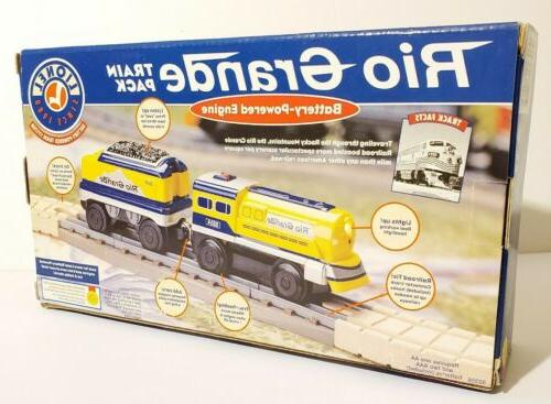 Lionel Learning Curve Train Battery Grande & Car