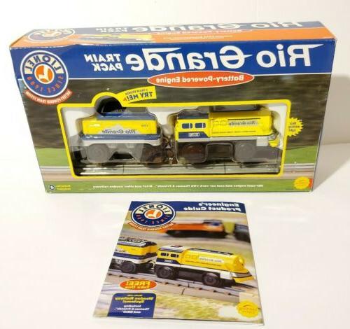 lionel train battery powered rio grande