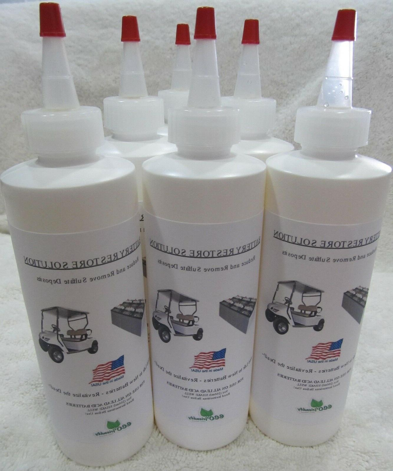liquid lead acid battery repair solution fix
