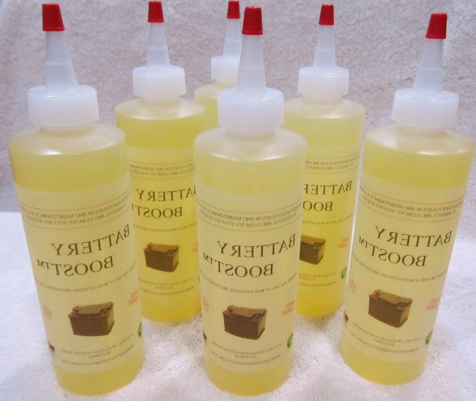 liquid lead acid battery restore solution fix