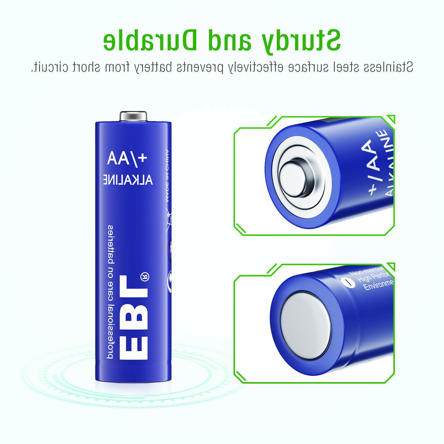 Lot Alkaline Batteries Charger for
