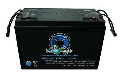 Mighty VP-2400 12V 2400 Car Audio Cell Battery
