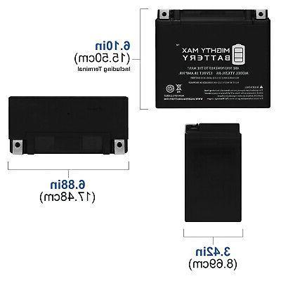 Mighty Max Replacement Yamaha Kodiak 03-06
