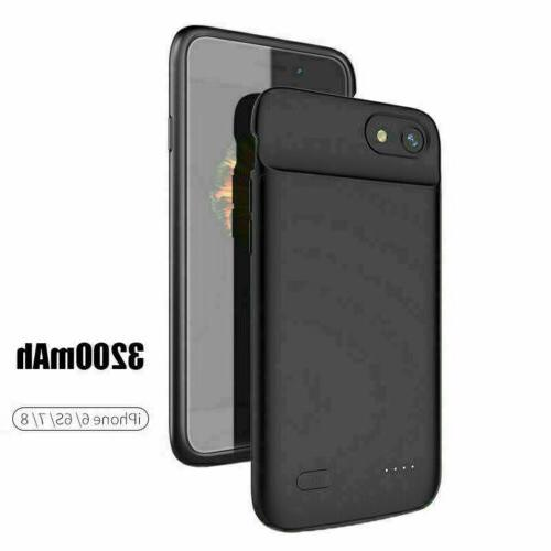 New Charger Case Power Bank For iPhone 6 7 8 XS MAX