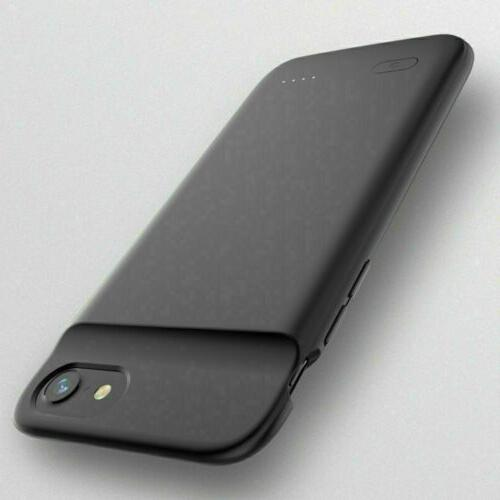 New Frame Case Power Bank For iPhone 6 8 XS MAX