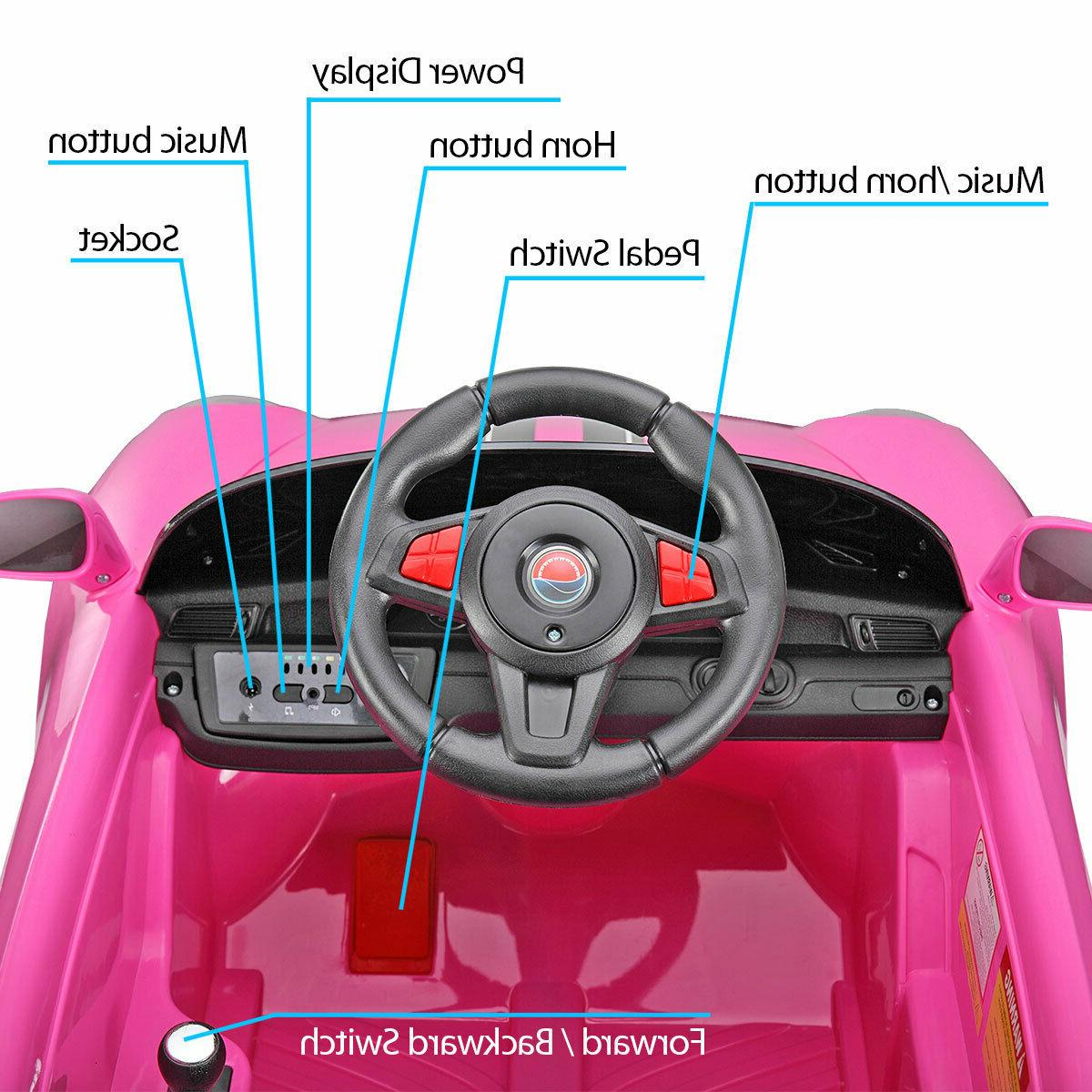 Pink Ride on Toys Remote Control