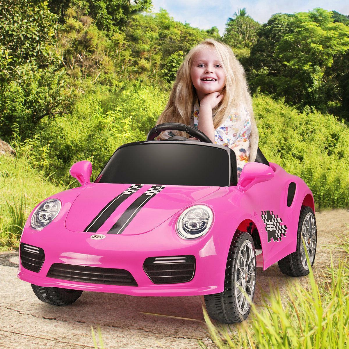 Pink Toys w/Headlights