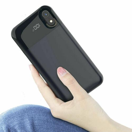 Portable Wireless Battery Charger Case Power Bank Phone MAX