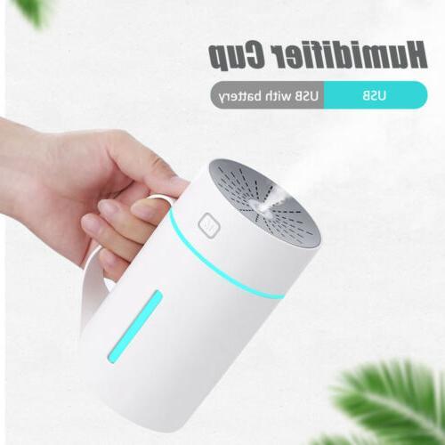 Portable USB Air Humidifier Home Purifier