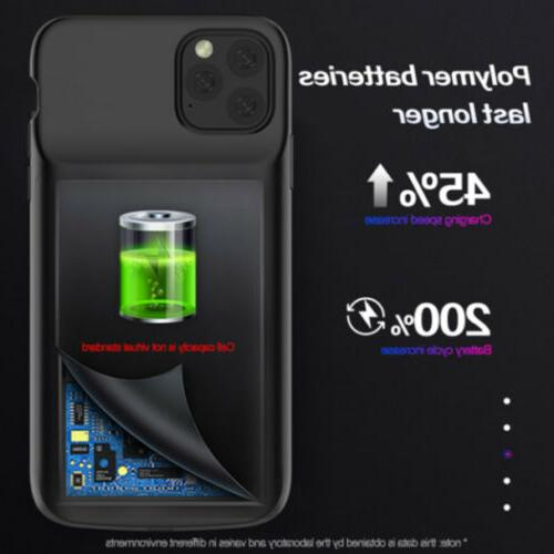 Rechargeable Case iPhone Power Cover Charging