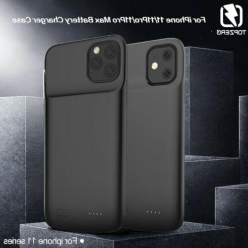 Rechargeable Battery Case iPhone 11 6.1inch Cover Car bracket