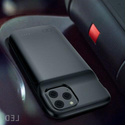 Rechargeable Battery Case iPhone 11 Cover Car