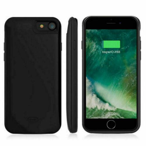 US 4.7inch For iPhone 8 Magnetic Power Battery Charging Phone
