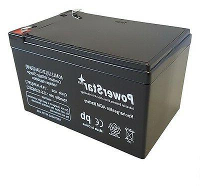 1 replacement battery for kid trax 12v