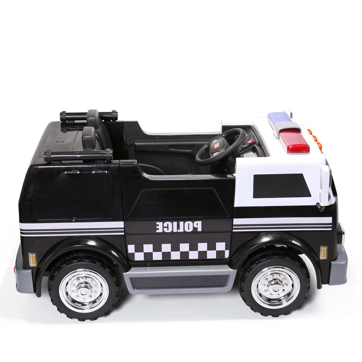 Ride On Car Police 12V Battery Powered Toy