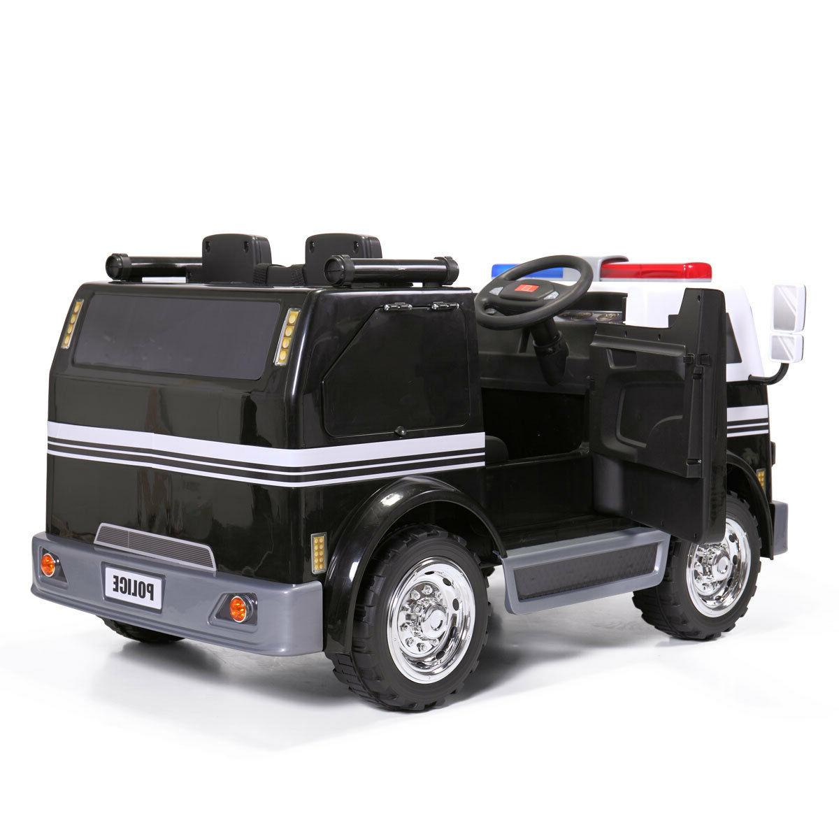 Ride On Police Electric Battery Toy Vehicle