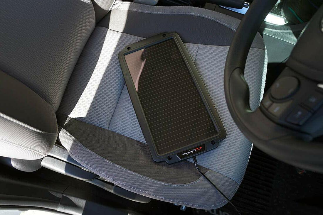 Solar Schumacher Waterproof Car RV 12V