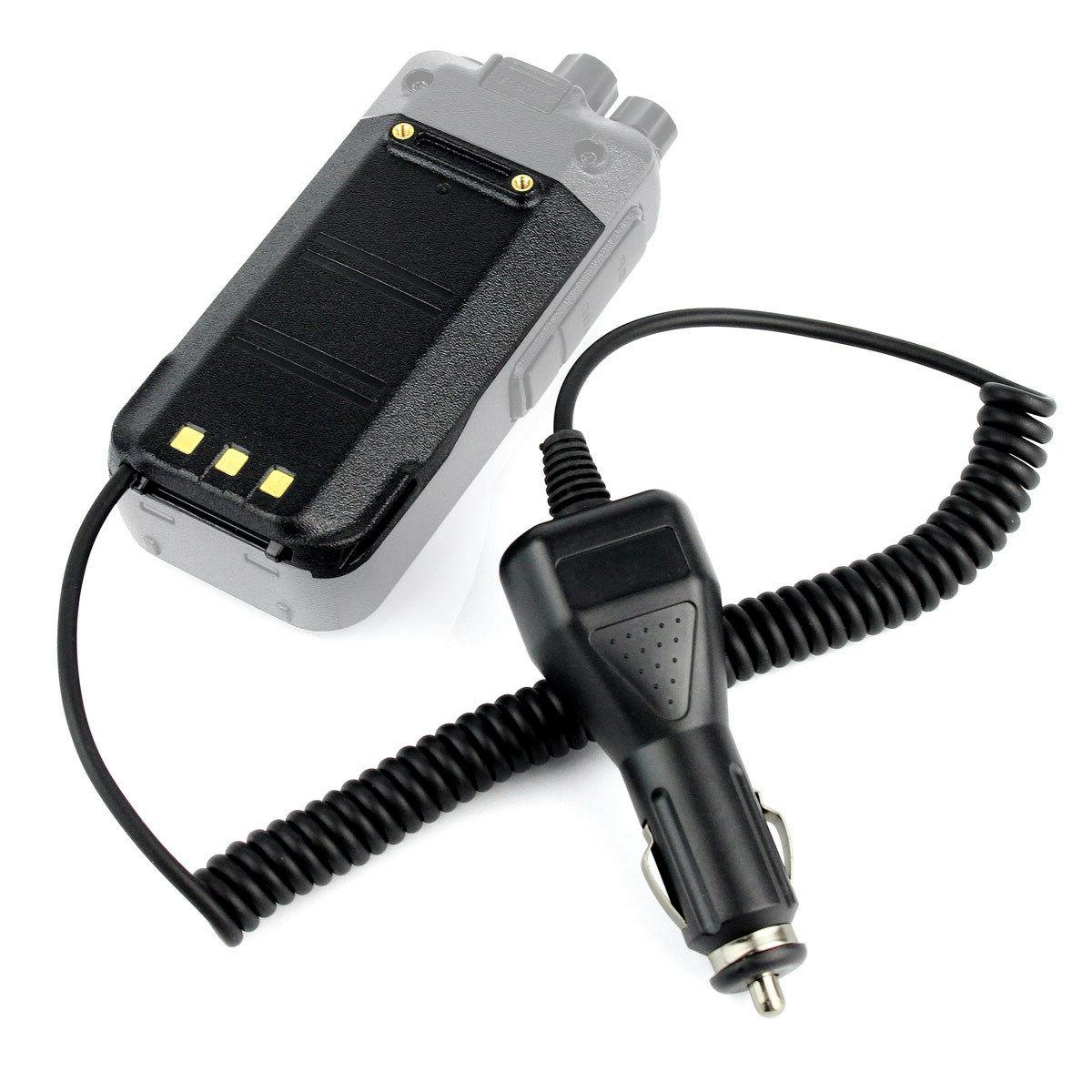 Car Charger Battery Eliminator for TYT MD-380 Retevis RT3 Tw