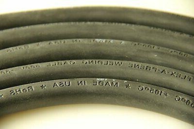Crimp Supply Ultra-Flexible Car Battery/Welding Cable - 350 MCM,